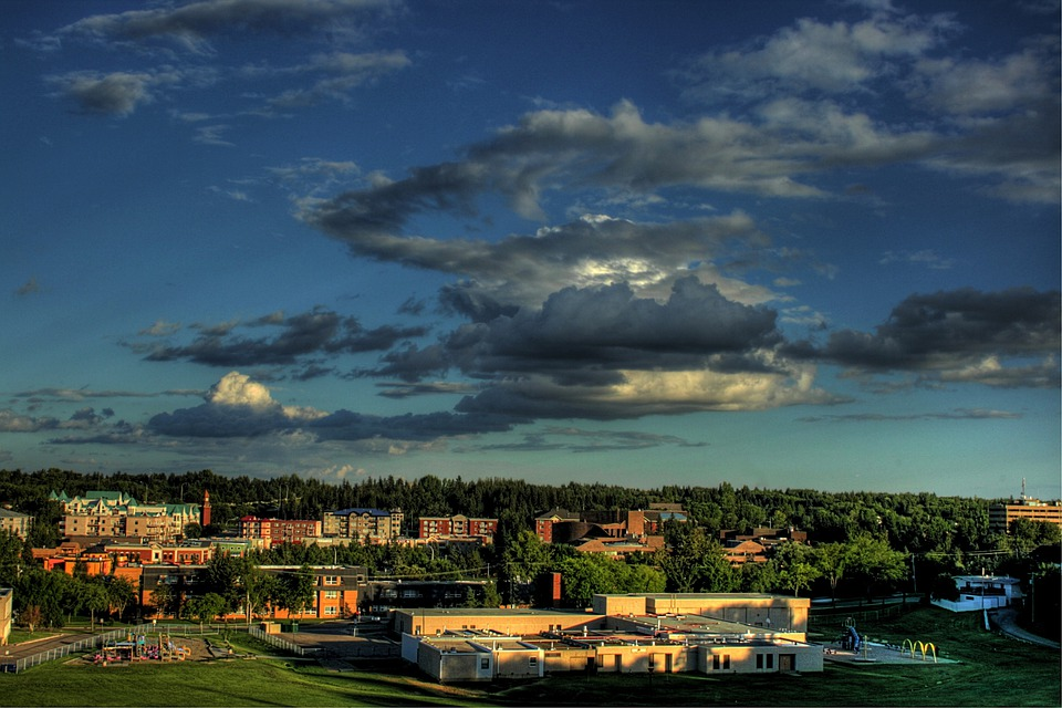 St Albert, Canada, City, Town, Urban, Landscape, Nature
