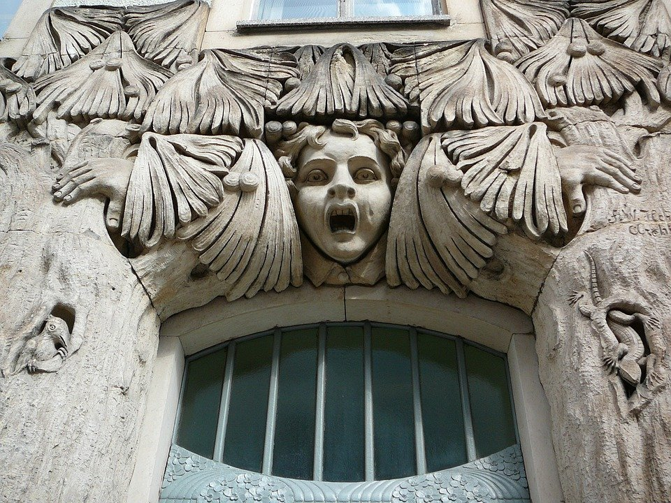 Free photo door frieze art nouveau free image on Art nouveau arquitectura