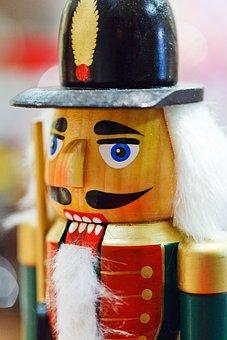 Christmas, Decoration, Doll, Face