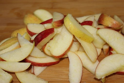 Apple, Apples, Slices, Sliced, Chopped