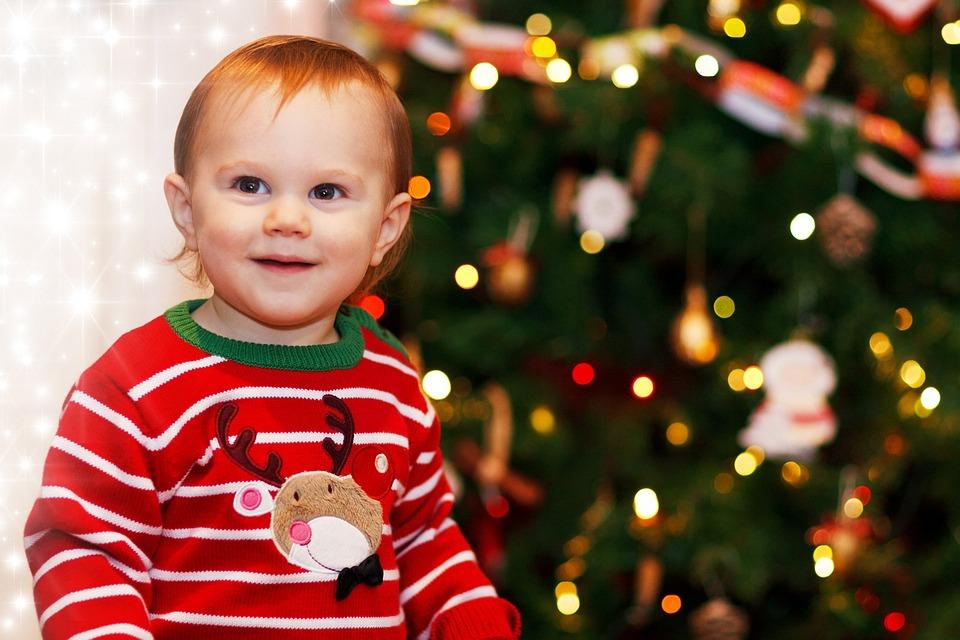 Kleiner Junge, Kinder, Weihnachten, Niedlich, Dezember