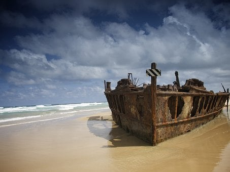 Australia's Top Ten Natural Beauty Spots for 2020 Australia, Fraser Island, Sea, Ocean