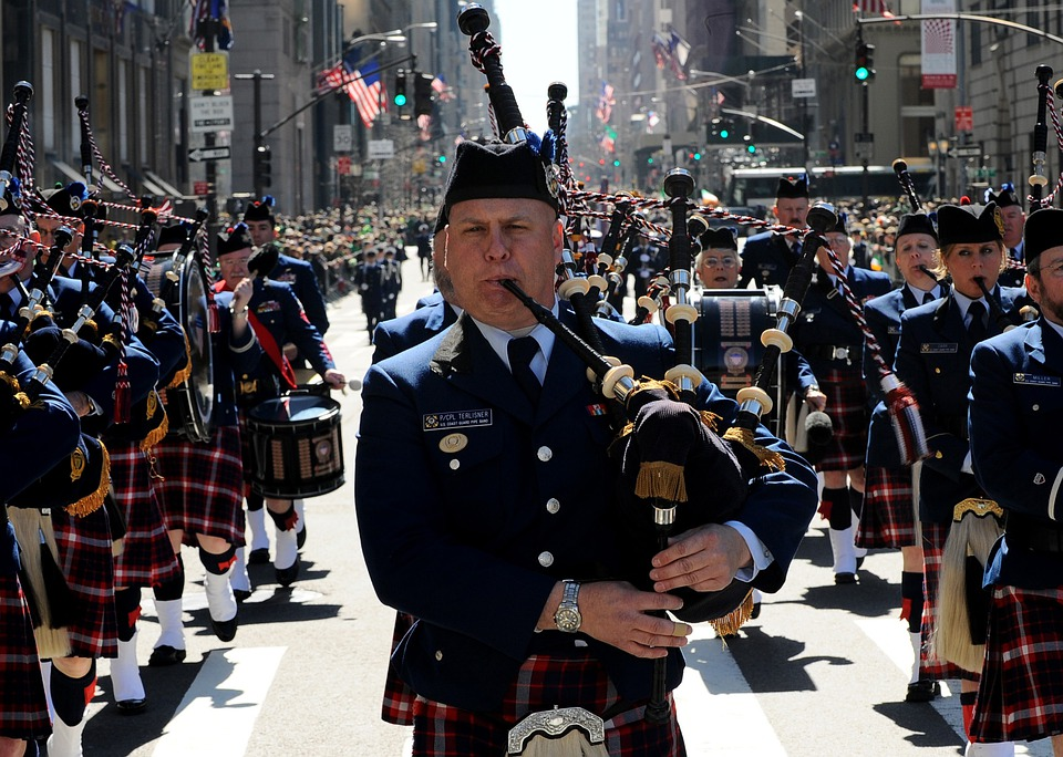 New York City, St Patrick'S Day, Parade, Marching Band