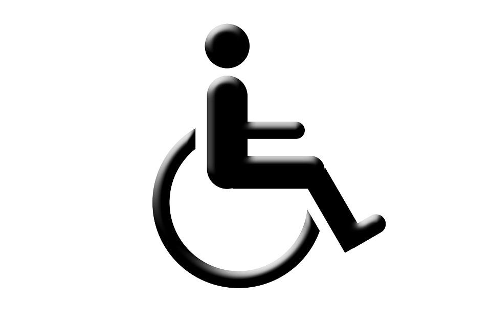 Personnes Handicapées, Symbole, Fauteuil Roulant