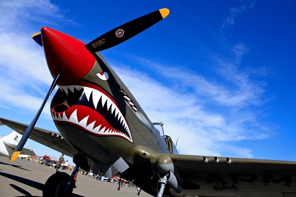 Free Photo Airplane Plane Air Show Warhawk Free