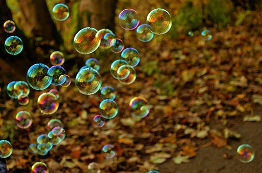 Soap Bubbles, Bubbles, Fun, Colors