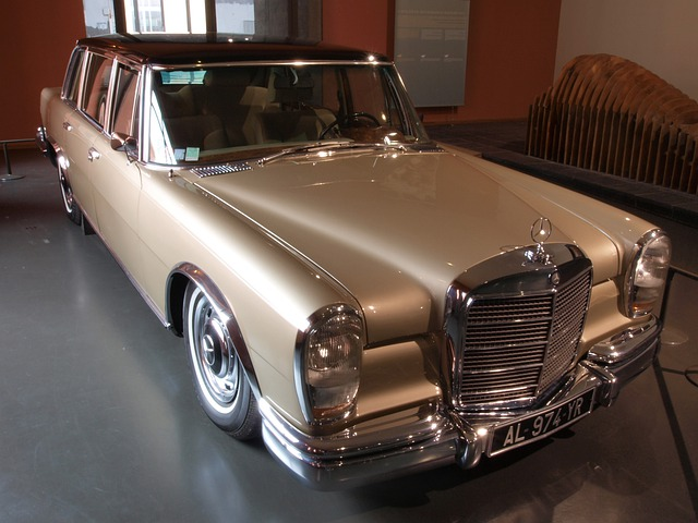 Mercedes Benz Limousine 1967 Car 183 Free Photo On Pixabay