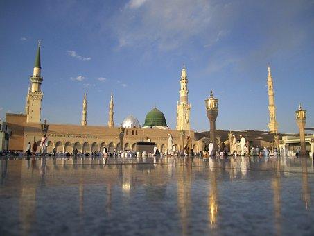 サウジアラビア, モスク, 塔, 建物, アーキテクチャ, 信仰, 宗教, 空