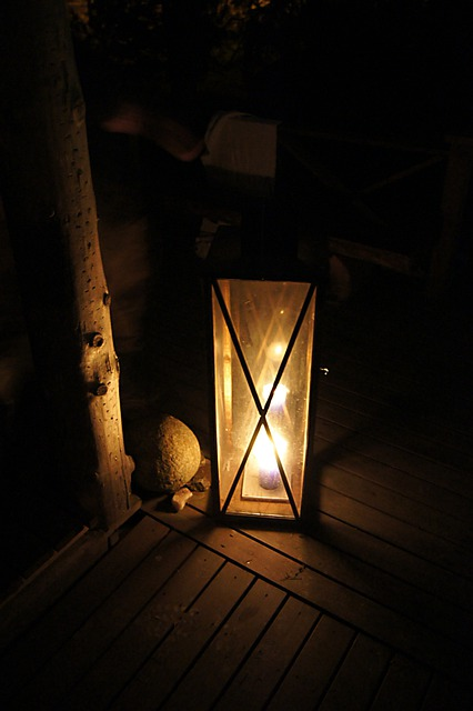 Free Photo Old Lantern Wood Dark Candle Free Image