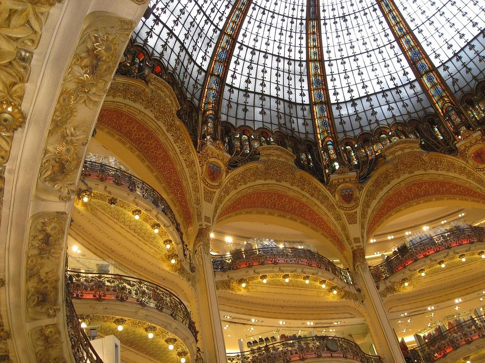 paris france shopping center free photo on pixabay
