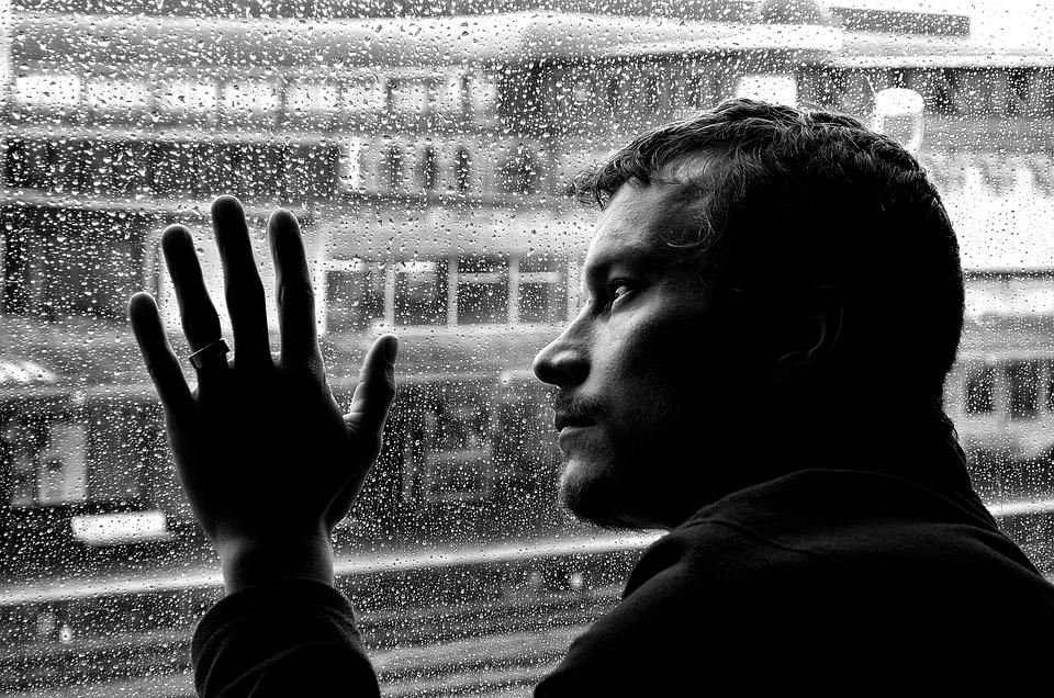 La Depresión, Soledad, Hombre, Estado De Ánimo