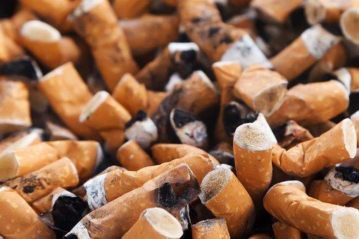 常習者, 中毒, 灰皿, 悪い, 焼き, お尻, 尻, 癌, たばこ, 汚い