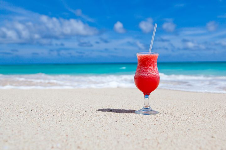 Strand, Drik, Caribbean, Cocktail