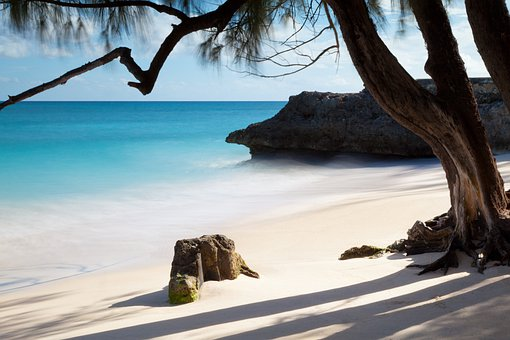 Tropical, Sand, Ocean, Beach, Sea