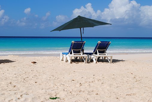 Beach, Barbados, Rockley, Summer, Sun