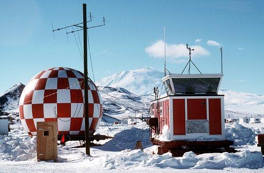 Antarctica, Winter, Snow, Ice, Sky