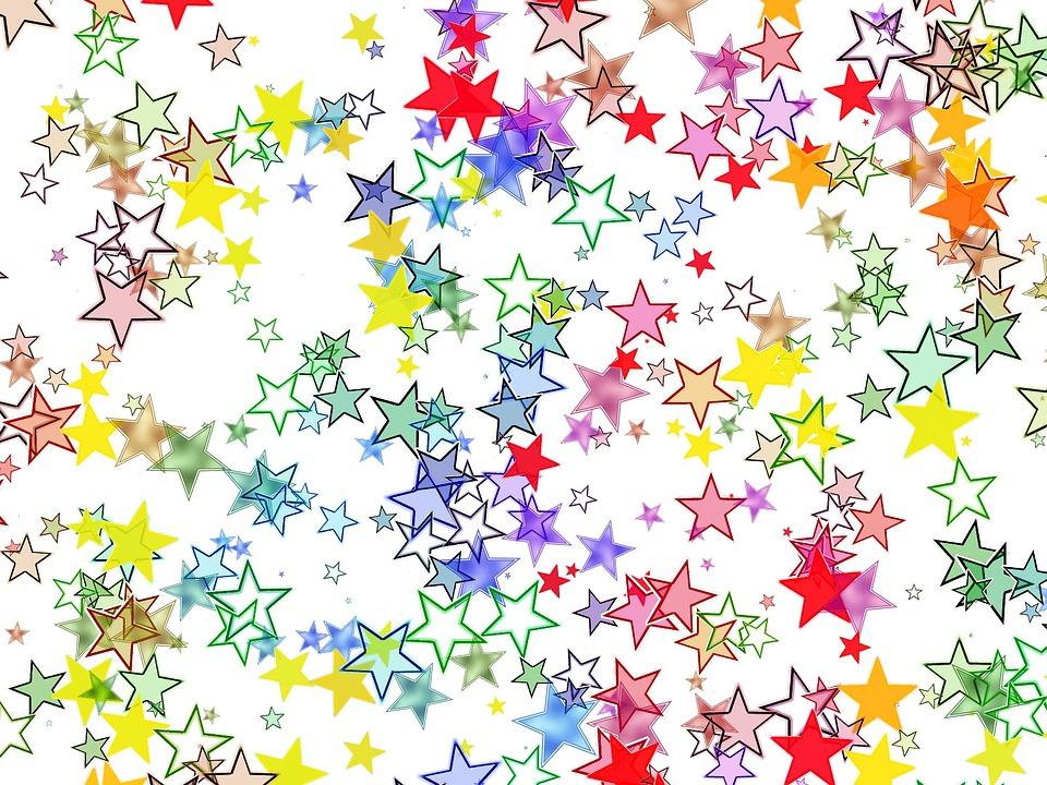 kostenlose illustration sterne bunt farbig hintergrund kostenloses bild auf pixabay 84834. Black Bedroom Furniture Sets. Home Design Ideas