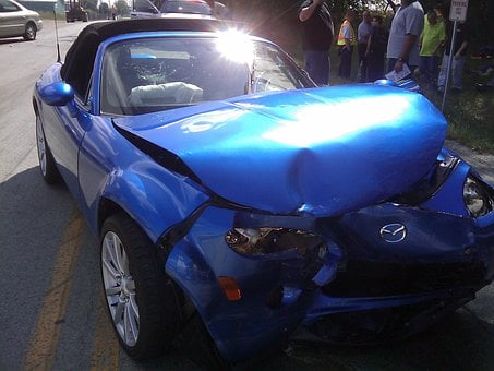Car Accident Crash Crashed Smash Smashed A