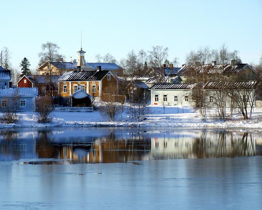 オウル フィンランド 川 · Pixab...