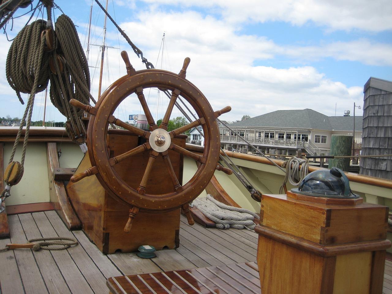 Корабль картинки палуба