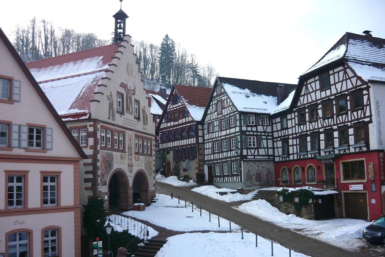 Фото немецкая деревушка