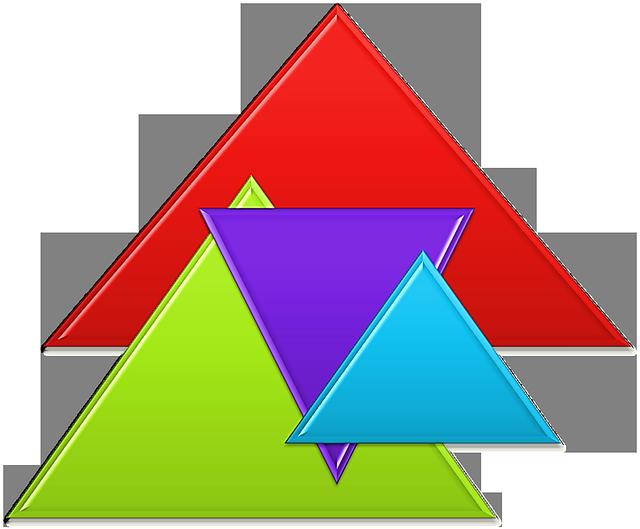 картинка с изображением треугольников скажет