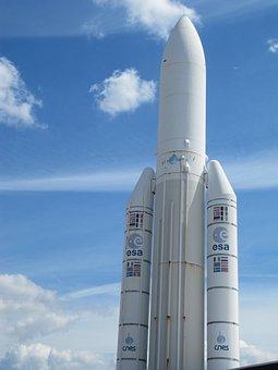 Ariane, Rakete, Weltraum, All, Esa
