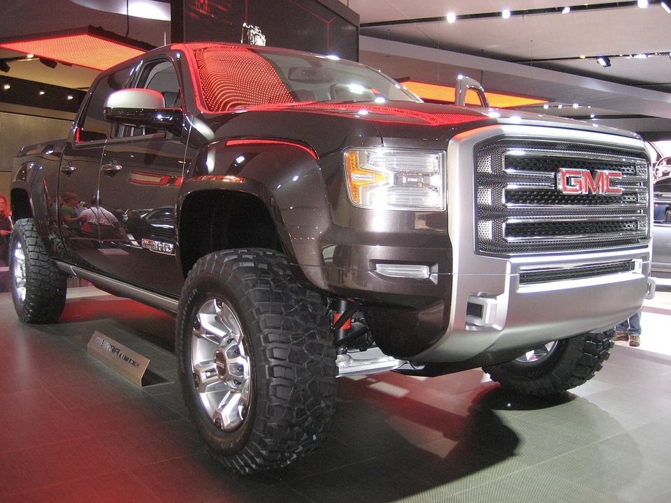 Gmc, Truck, Pickup, Front, Side, Vehicle, Fuel efficency, best trucks with mpg