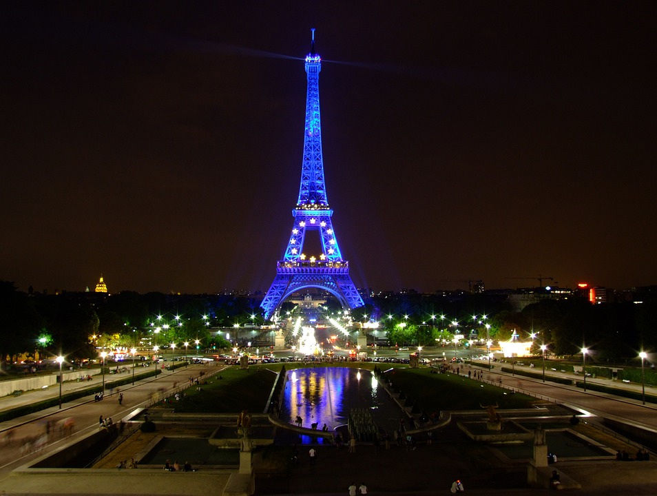 Free photo: Paris, France, Sky, Night, Evening - Free Image on ...