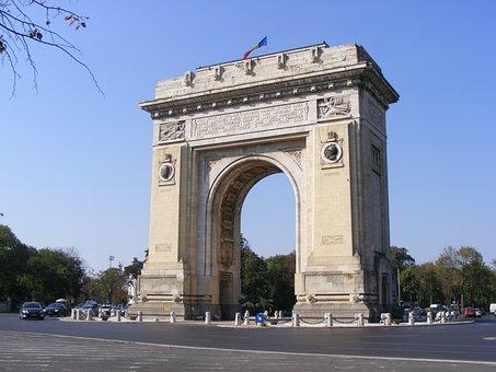 Arch, Bucharest, History, Triumph