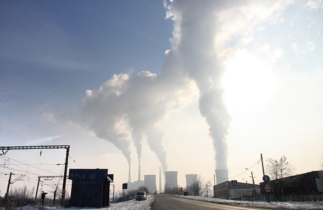 Free Photo Pollution Smoke Stack Emissions Free