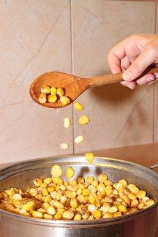 Boiled, Cereals, Corn, Food, Drink
