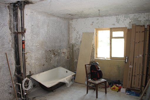 Apartment, Demolition, Framing, Home