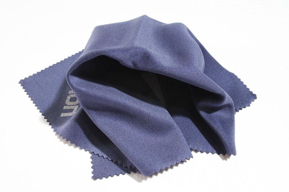 Blue, Cleaning, Cloth, Kevlar, Lens, Microfiber
