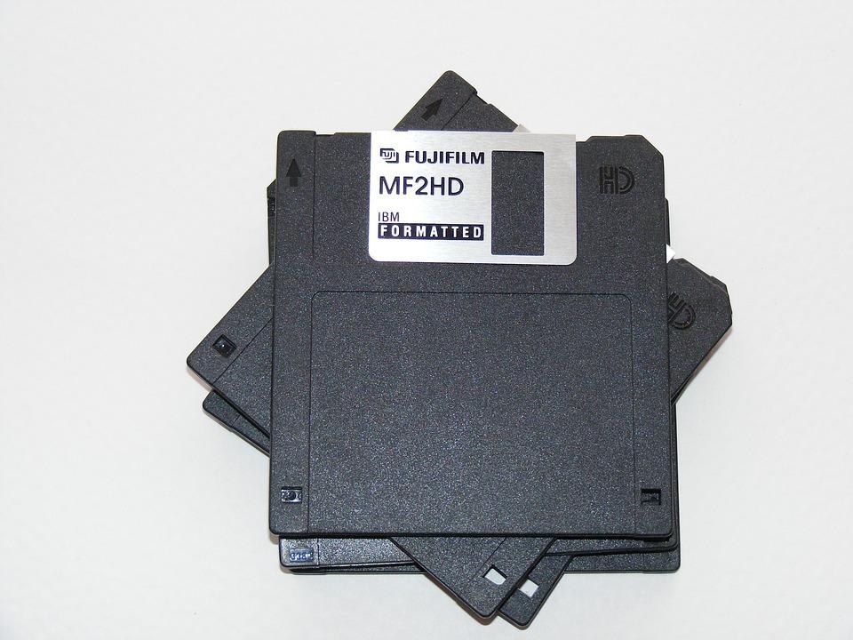 計算機, 磁盤, Fdd, 軟盤, 格式化, Ibm, 存儲, 技術