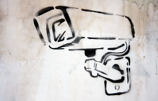 Camera Graffiti Security Cctv Surveillance