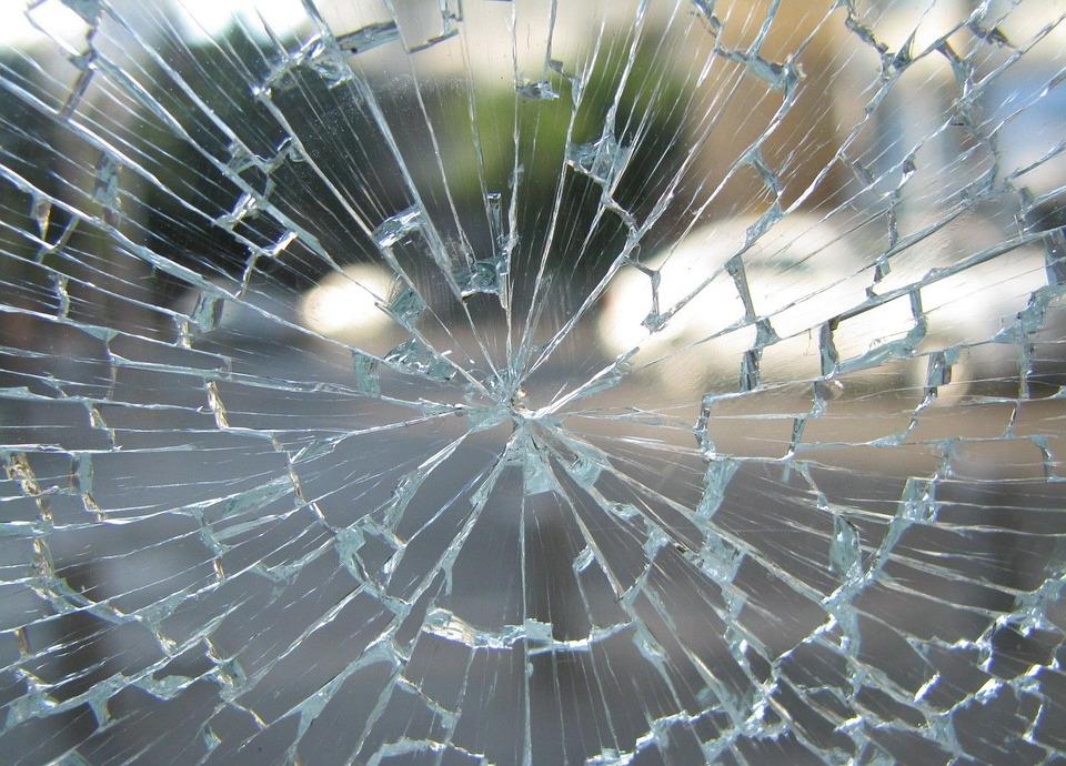Szkło, Okno, Broken, Krakingu, Rozbita, Hartowane