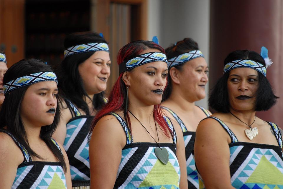 Maori, Maori Group, Kiwi, Culture, Costumes
