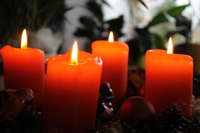 adventti kynttil t joulu ilmainen valokuva pixabayssa. Black Bedroom Furniture Sets. Home Design Ideas
