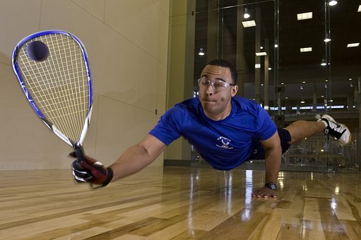 Racquetball Sports Exercise Man Competitio