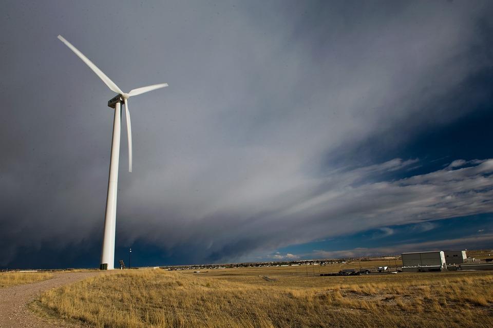 Free Photo Wyoming Landscape Wind Turbine Free Image On Pixabay 89826