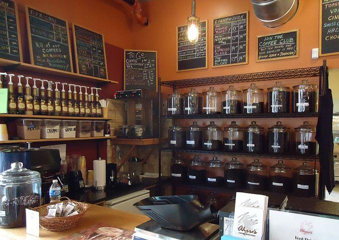 Интерьер чай кофе