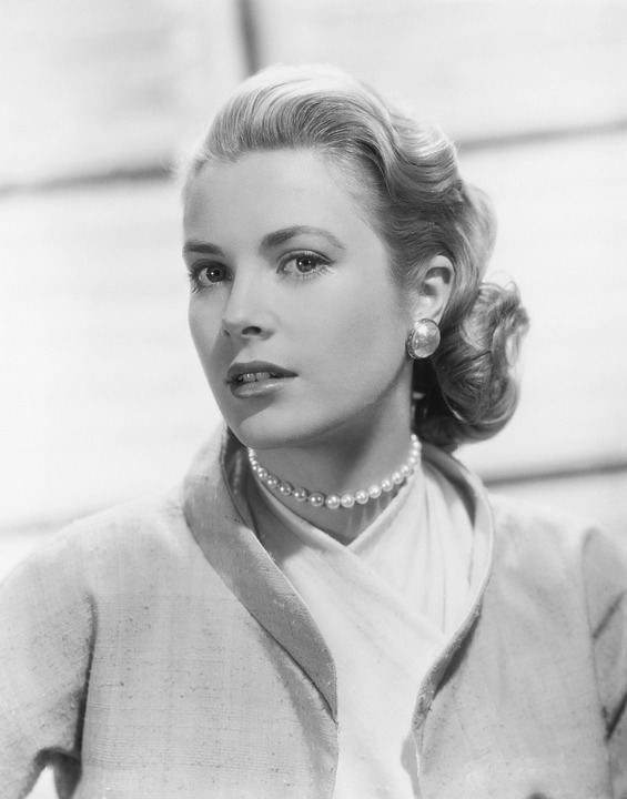 Grace Kelly Star Famous Actress Celebrity Close Up