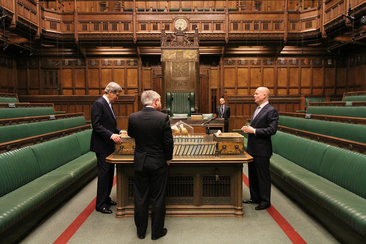 In England, the Speaker of the House is not allowed to speak.