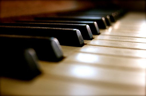 Piano, Keys, Music, Instrument, Old
