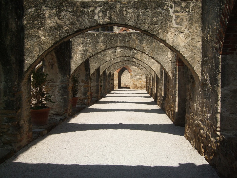 Archway Mission San Antonio 183 Free Photo On Pixabay