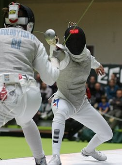 Fencing, Sports, Swords, Parry, Sword