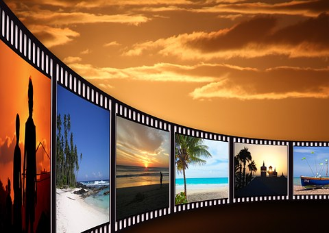 Filmstrip, Cinema Strip, Video Film