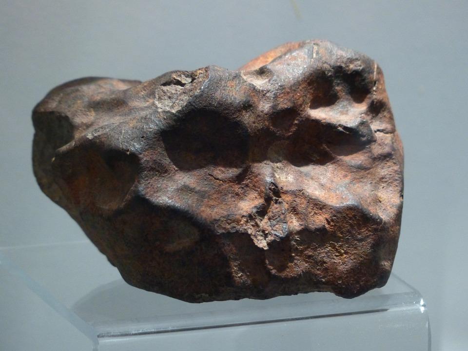 隕石, 石, 岩, 鉄隕石, ニッケル鉄隕石, シューティング スター, コスモス, スペース, 石の隕石