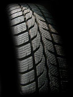 自動, 自動車タイヤ, ゴム, 冷, 義務, プロファイル, 成熟した, 雪